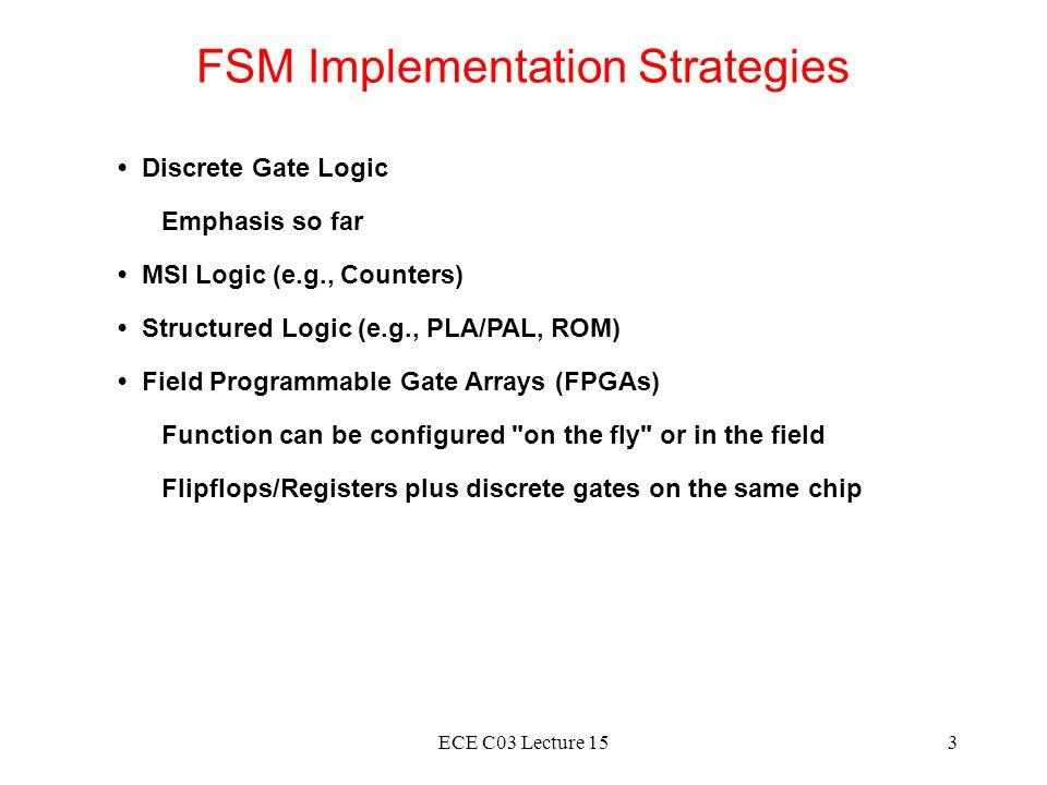 FSM Implementation Strategies