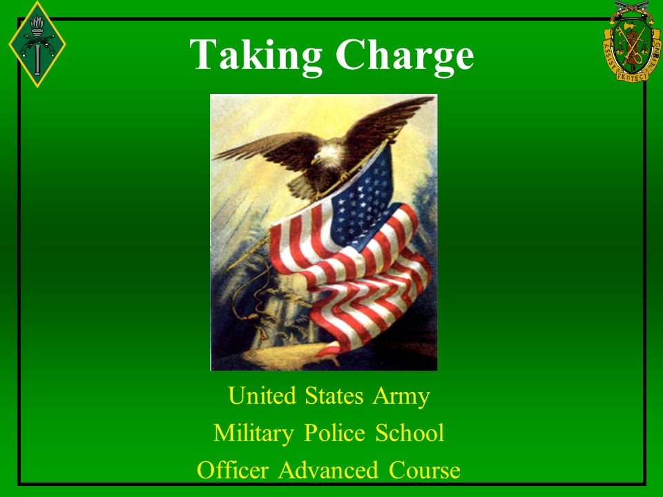 United States Army Military Police School Officer Advanced Course