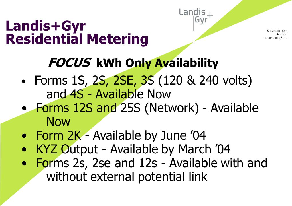 FOCUS kWh Only Availability