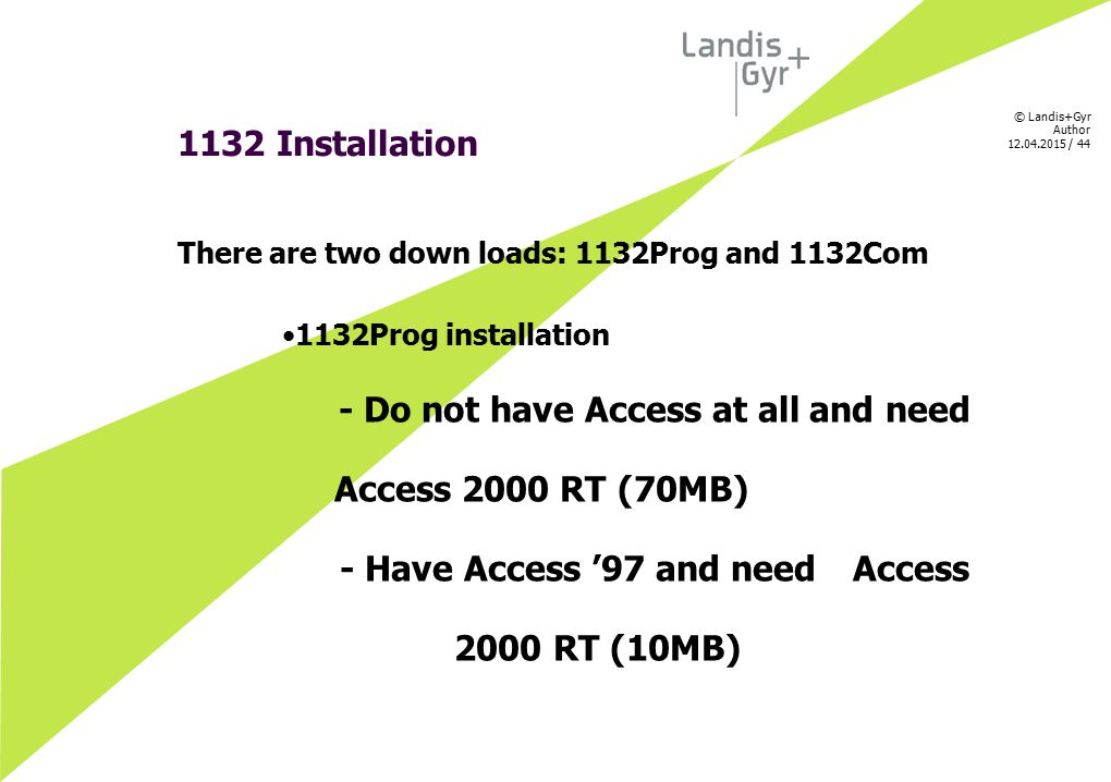 - Have Access '97 and need Access 2000 RT (10MB)