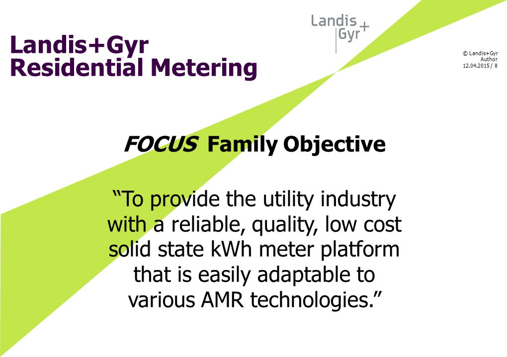 FOCUS Family Objective
