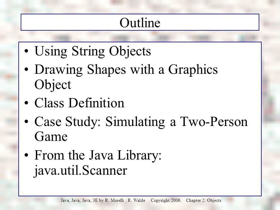 Java, Java, Java R. Morelli