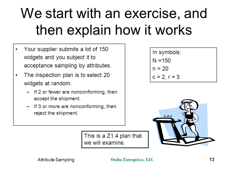 We start with an exercise, and then explain how it works