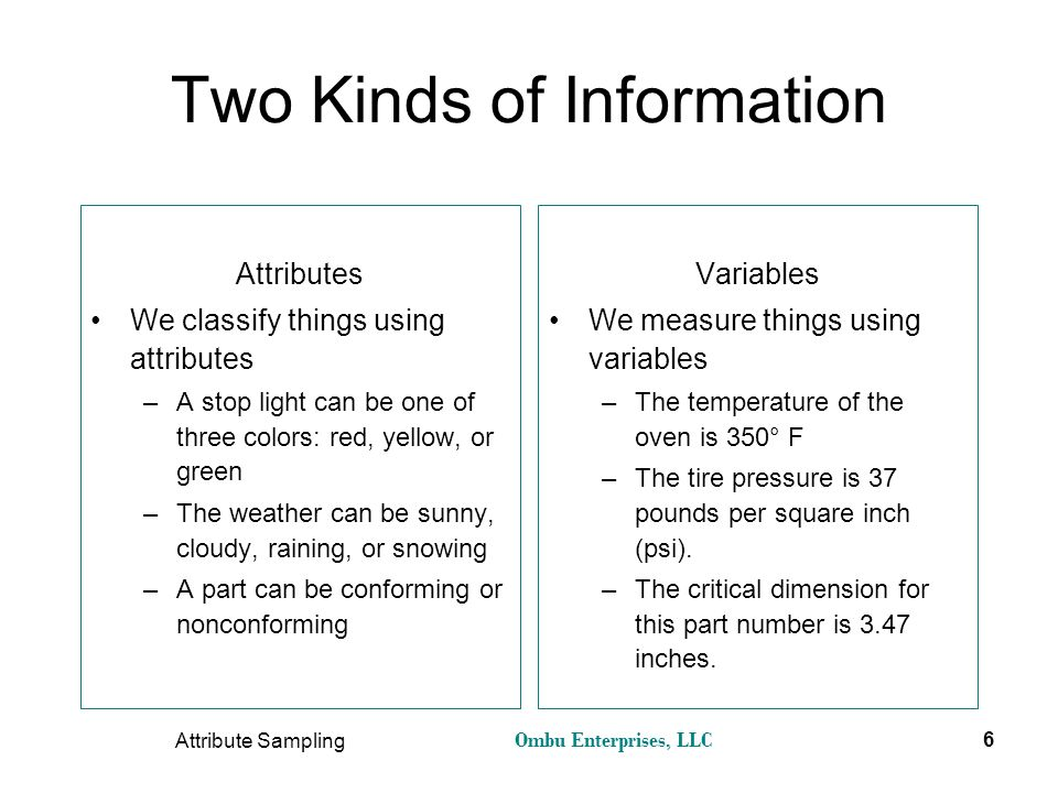 Two Kinds of Information