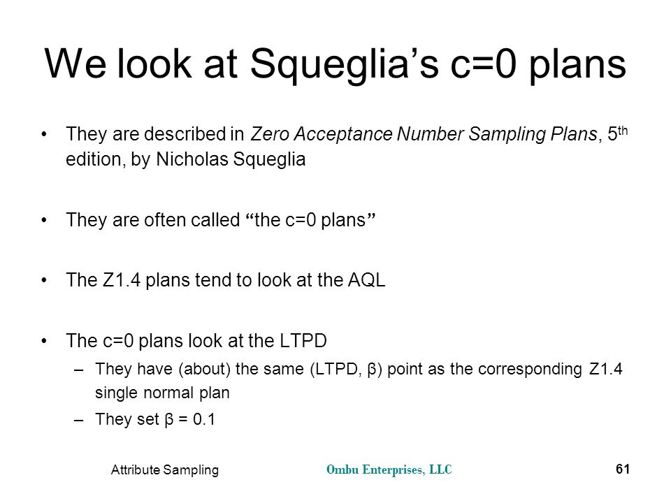 We look at Squeglia's c=0 plans