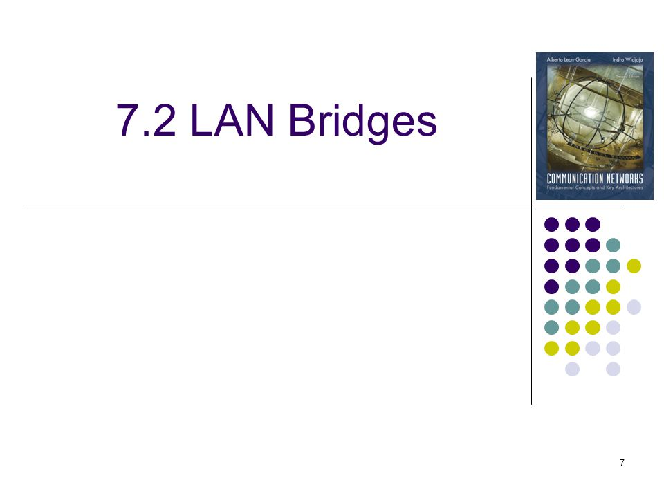 7.2 LAN Bridges