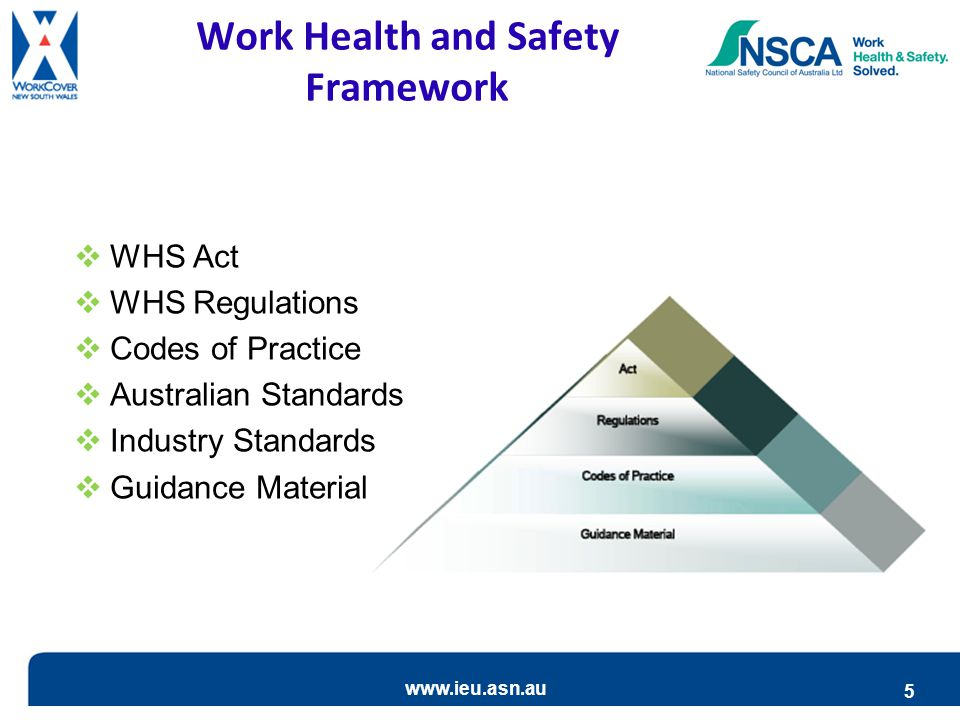 Work Health and Safety Framework