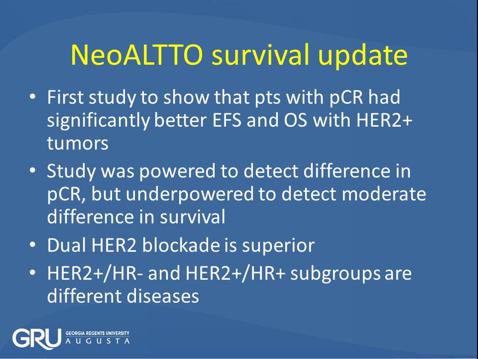 NeoALTTO survival update