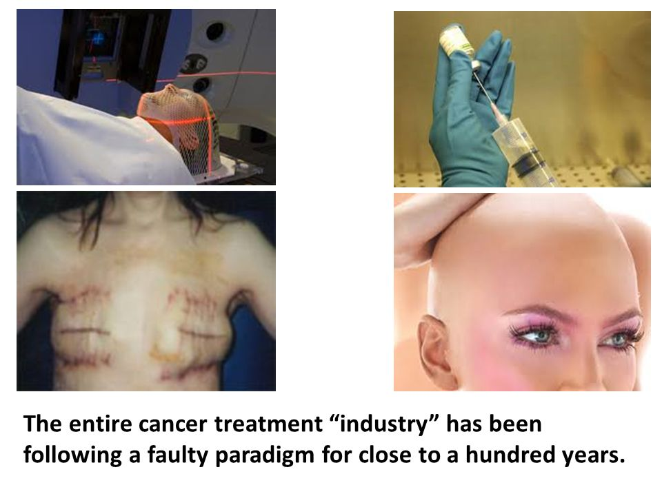 The underlying issue is that the entire cancer treatment industry has been following a faulty paradigm for close to a hundred years.