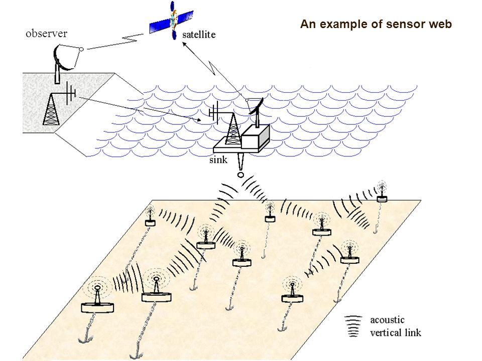 An example of sensor web