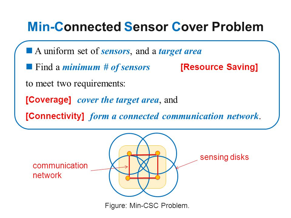Min-Connected Sensor Cover Problem