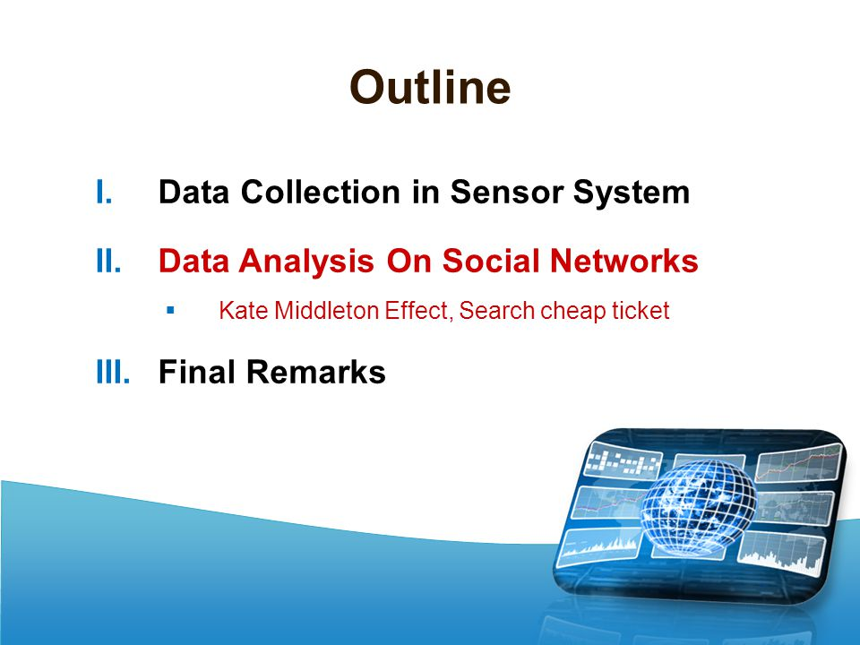 Outline Data Collection in Sensor System