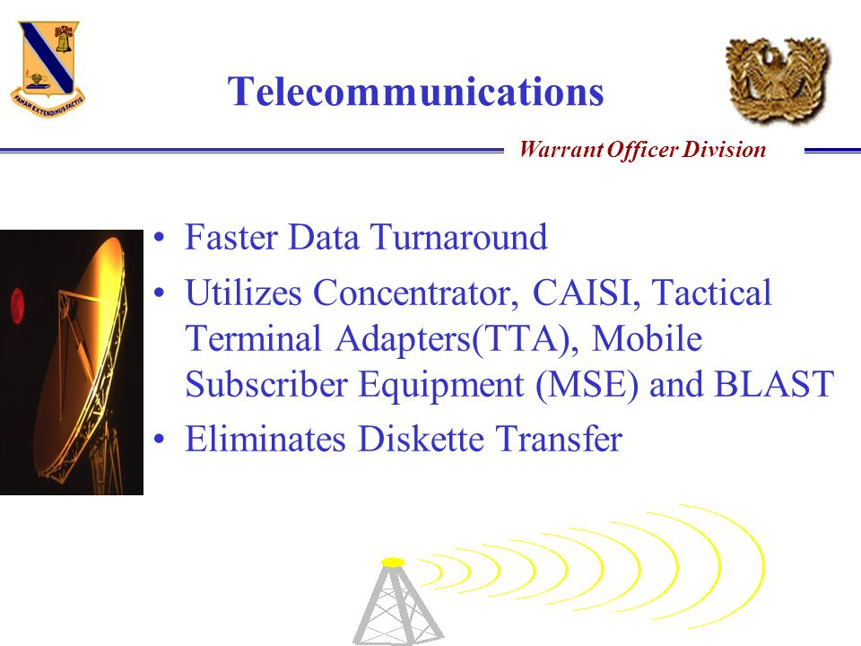 Telecommunications Faster Data Turnaround