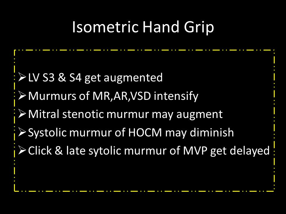 Isometric Hand Grip LV S3 & S4 get augmented