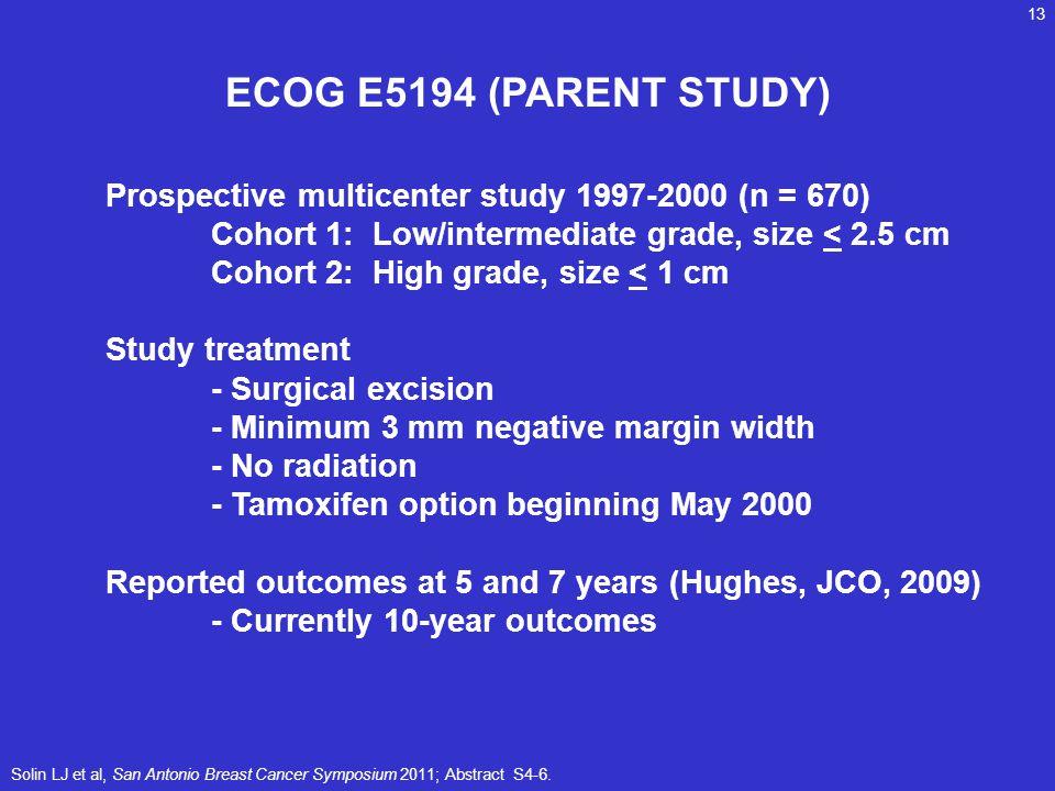 ECOG E5194 (PARENT STUDY)
