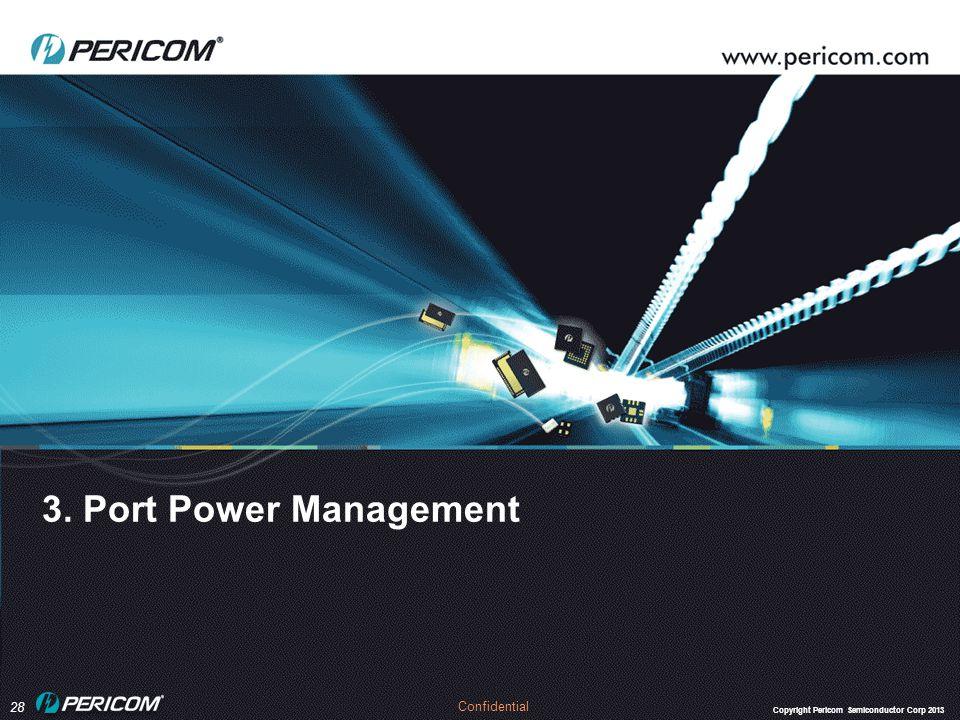 3. Port Power Management