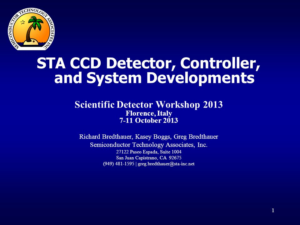 STA CCD Detector, Controller, and System Developments