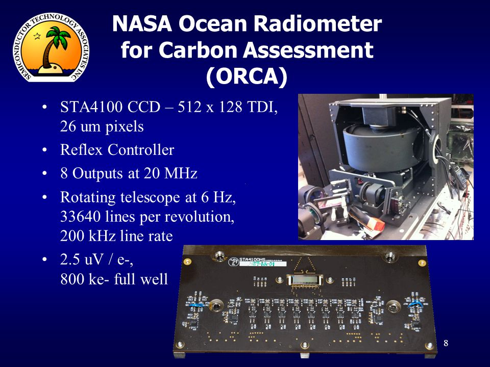 NASA Ocean Radiometer for Carbon Assessment (ORCA)