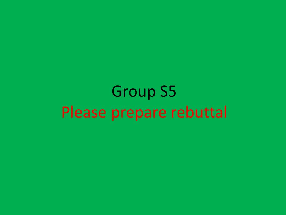 Please prepare rebuttal