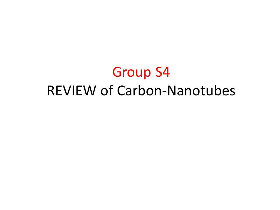 REVIEW of Carbon-Nanotubes