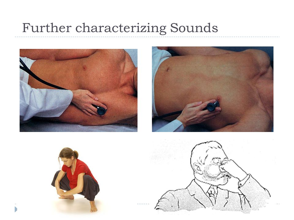 Further characterizing Sounds
