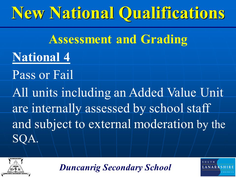 New National Qualifications
