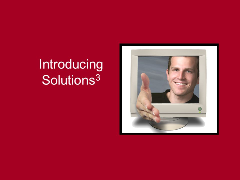 Introducing Solutions3