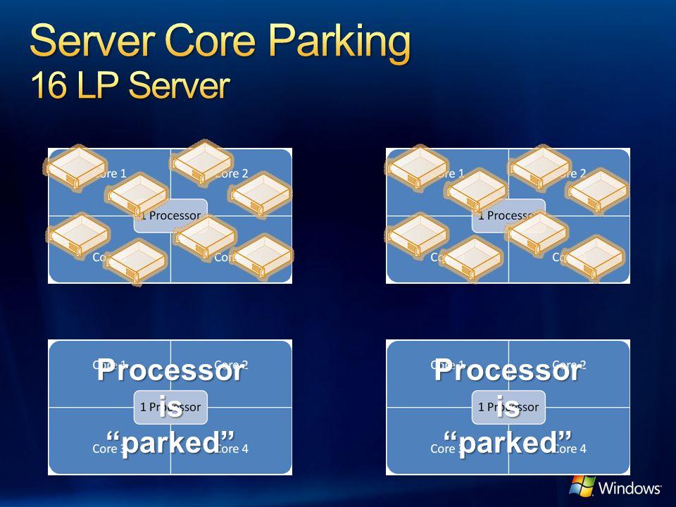 Server Core Parking 16 LP Server