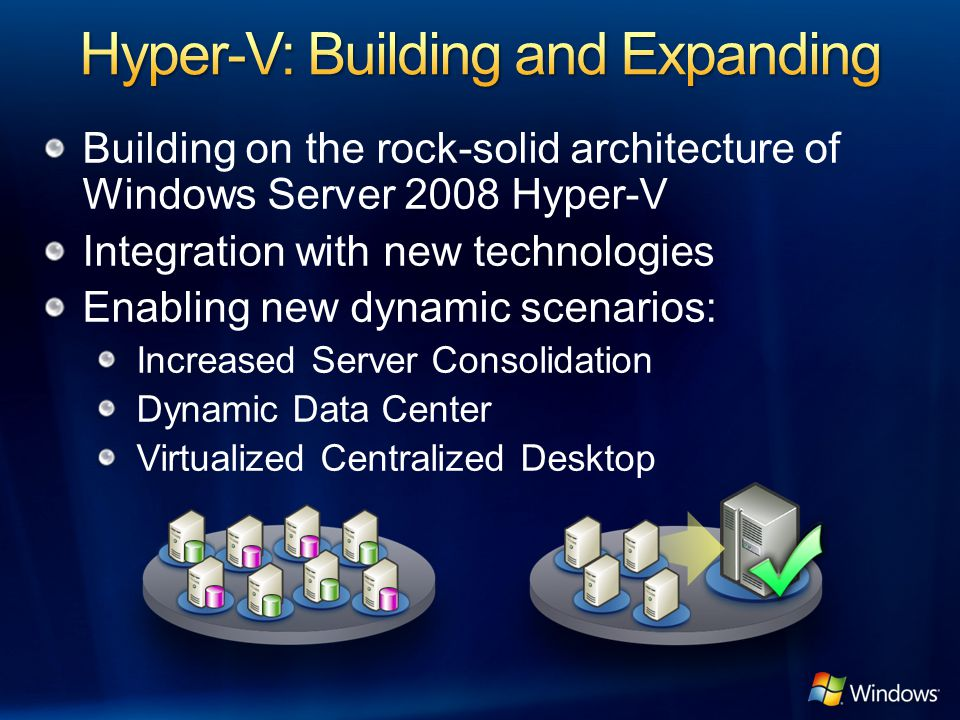 Hyper-V: Building and Expanding