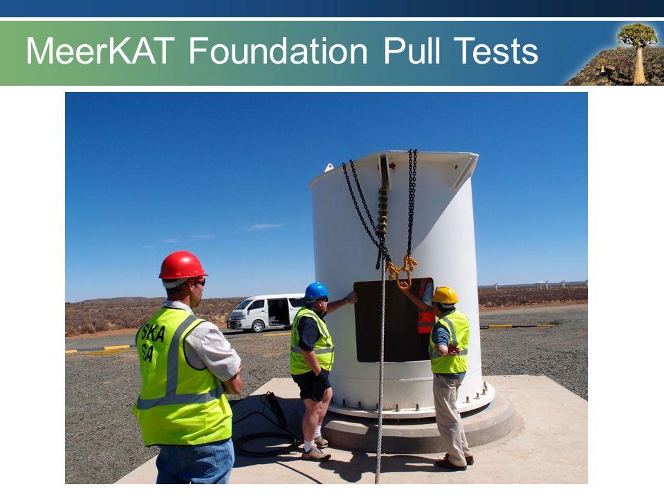 MeerKAT Foundation Pull Tests