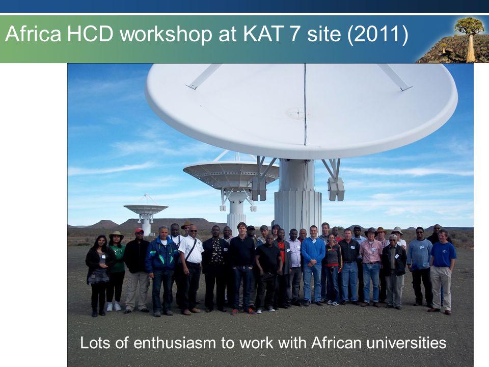 Africa HCD workshop at KAT 7 site (2011)