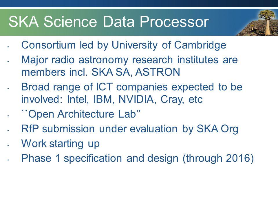 SKA Science Data Processor