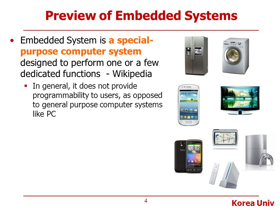 Preview of Embedded Systems