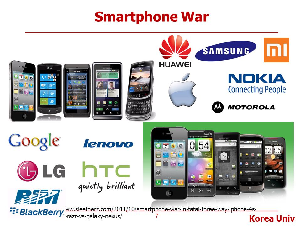 Smartphone War http://www.sleetherz.com/2011/10/smartphone-war-in-fatal-three-way-iphone-4s-vs-droid-razr-vs-galaxy-nexus/