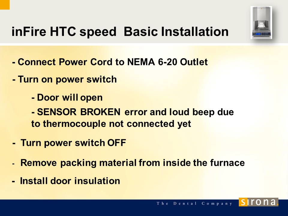 inFire HTC speed- Installation Requirements