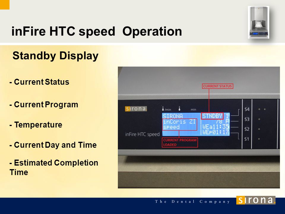 inFire HTC speed Operation
