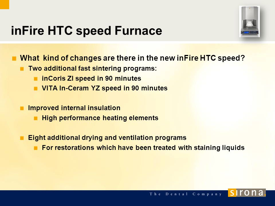 inFire HTC speed Furnace