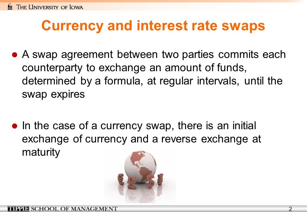 Currency and interest rate swaps