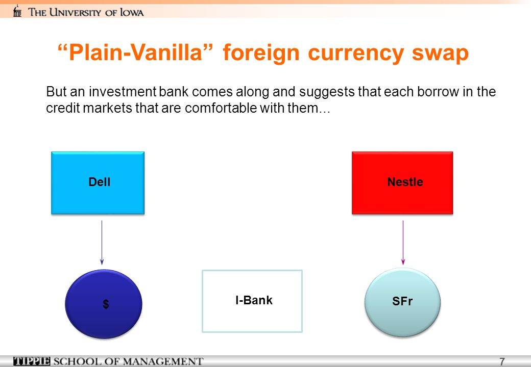 Plain-Vanilla foreign currency swap