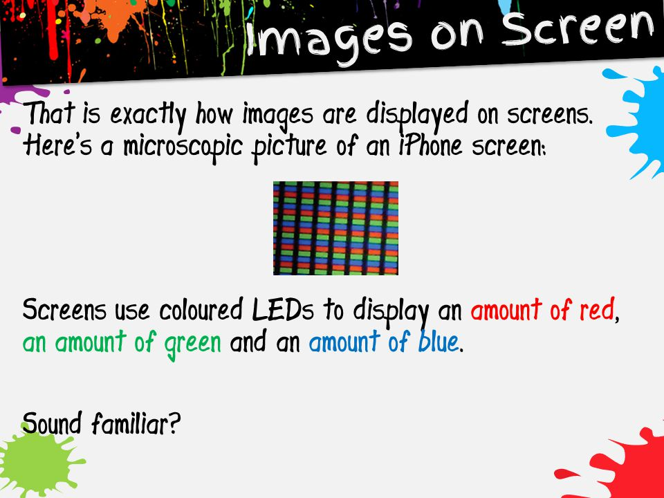 Images on Screen
