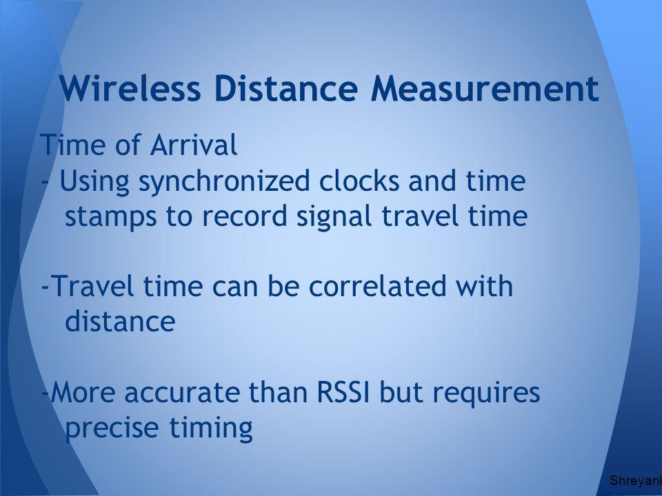 Wireless Distance Measurement