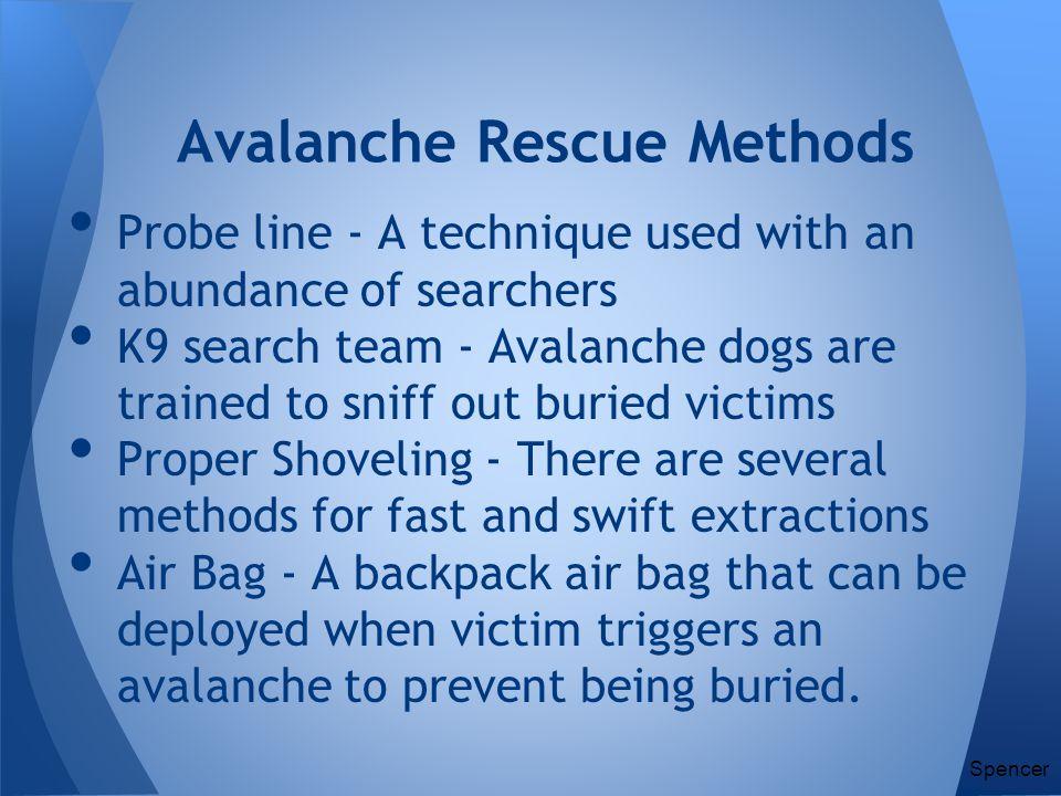 Avalanche Rescue Methods