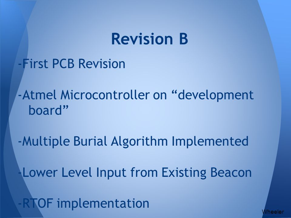Revision B -First PCB Revision