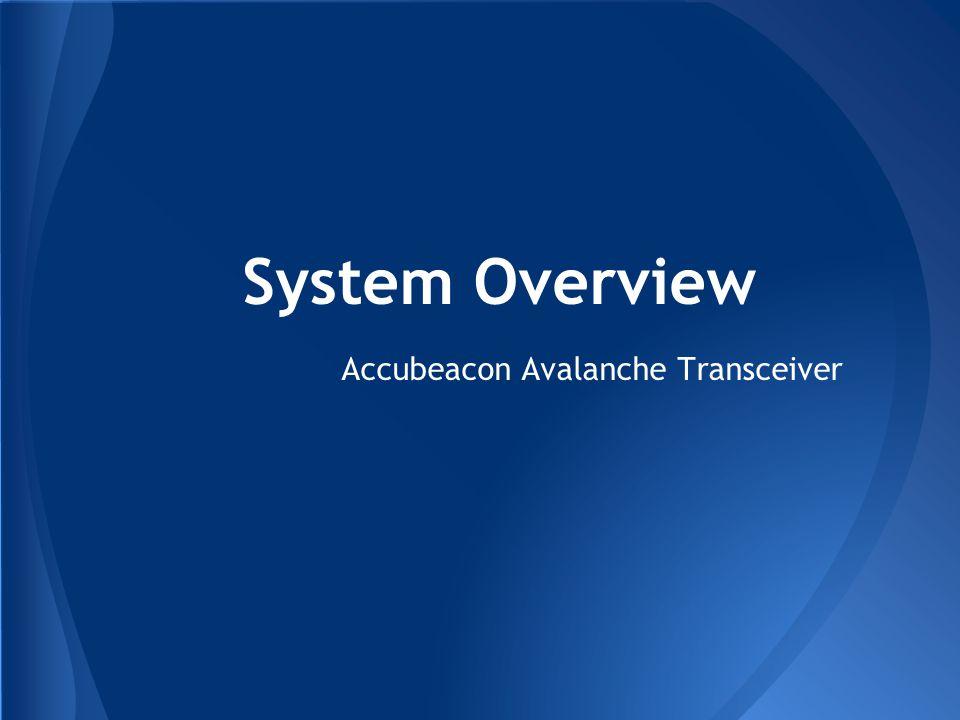 Accubeacon Avalanche Transceiver