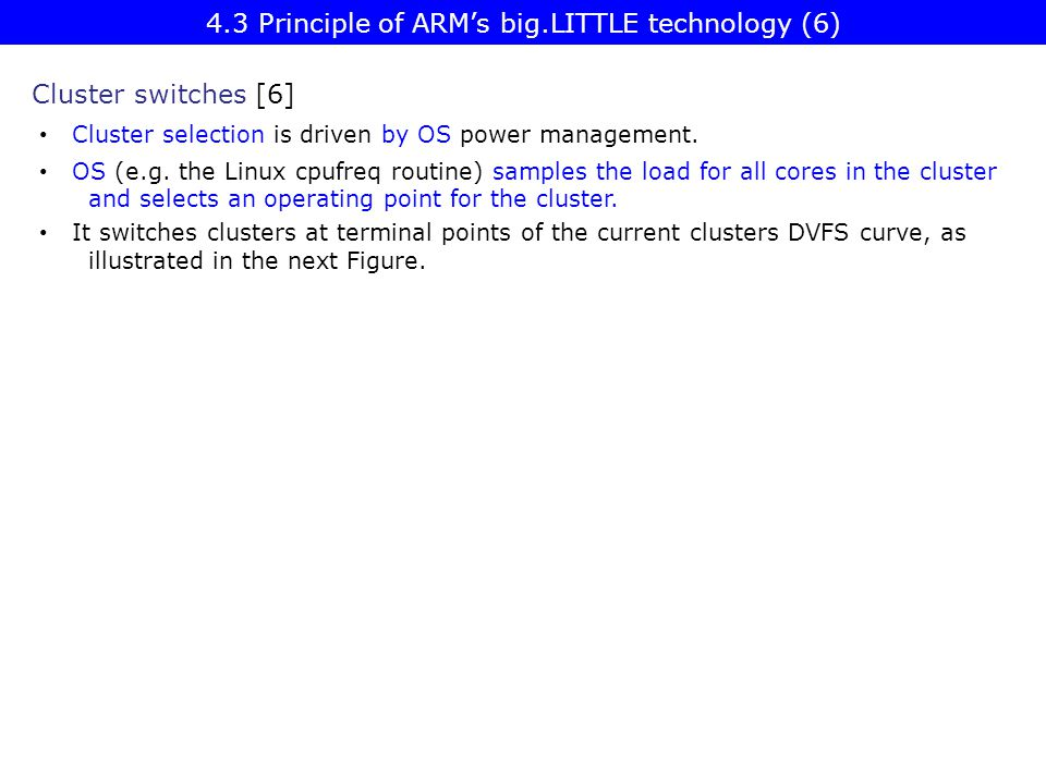 4.3 Principle of ARM's big.LITTLE technology (6)