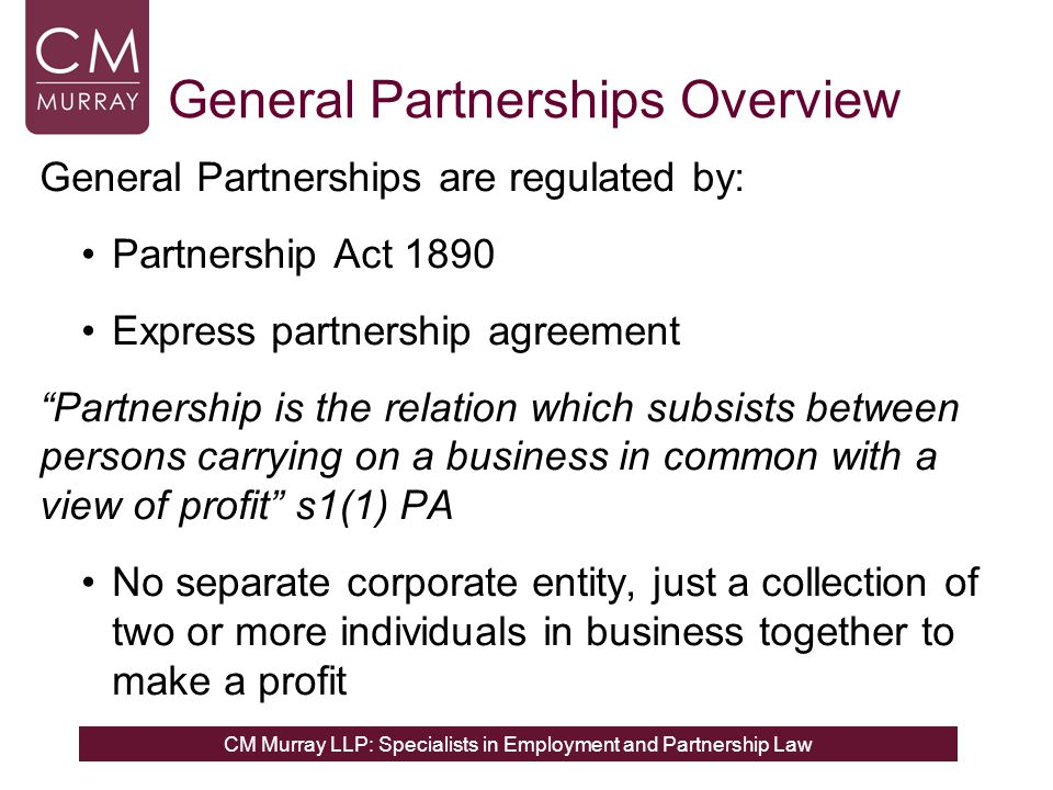 Partnership Law for Employment Lawyers ppt download – Partnership Agreement Between Two Individuals
