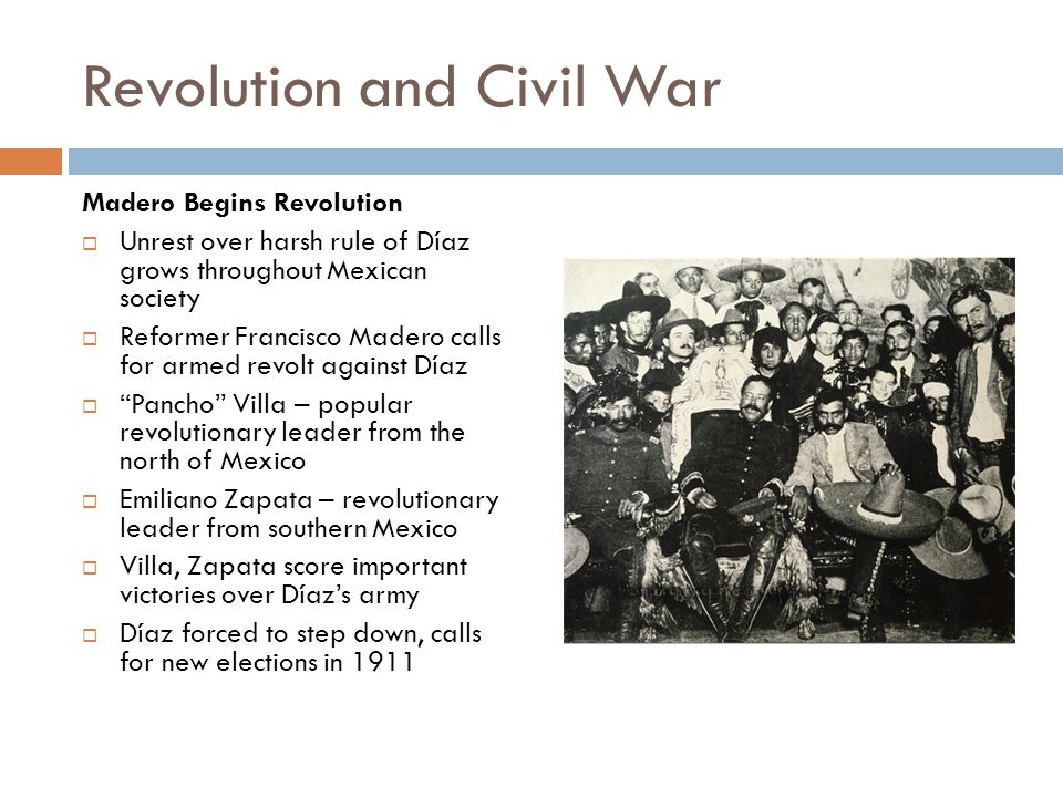 Revolution and Civil War