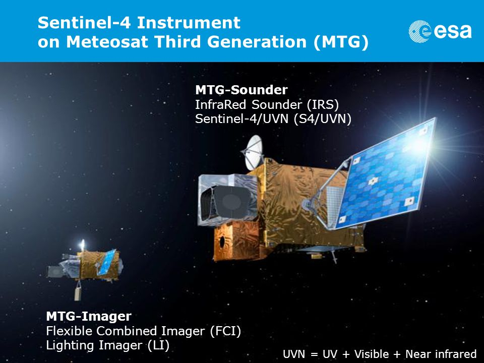 Sentinel-4 Instrument on Meteosat Third Generation (MTG)