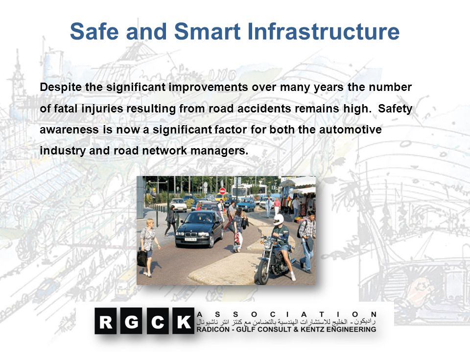 Safe and Smart Infrastructure
