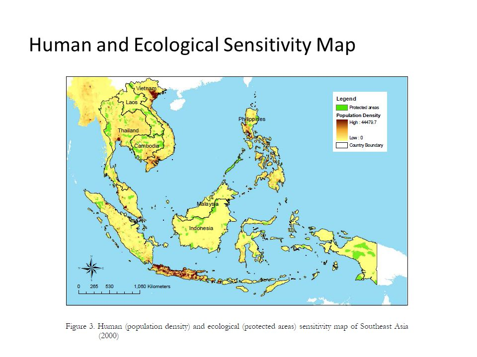Human and Ecological Sensitivity Map
